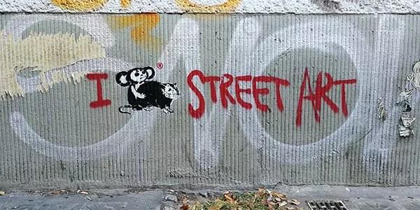 Loving art Serie, 2018, Stencil, Sprühfarbe