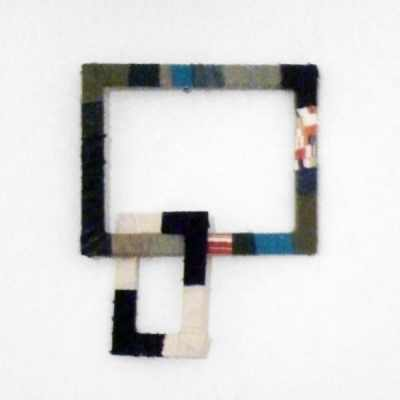 Zwei Rahmen Kette - Hommage an Stefan Müllers Kunst