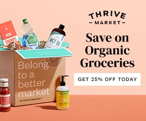 Thrive Market 25 off
