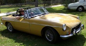 My beloved 1971 MGB Sports Convertable