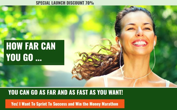 Sprint to Success and Win the Money Marathon – 2018 New Year Special Discount 70% OFF