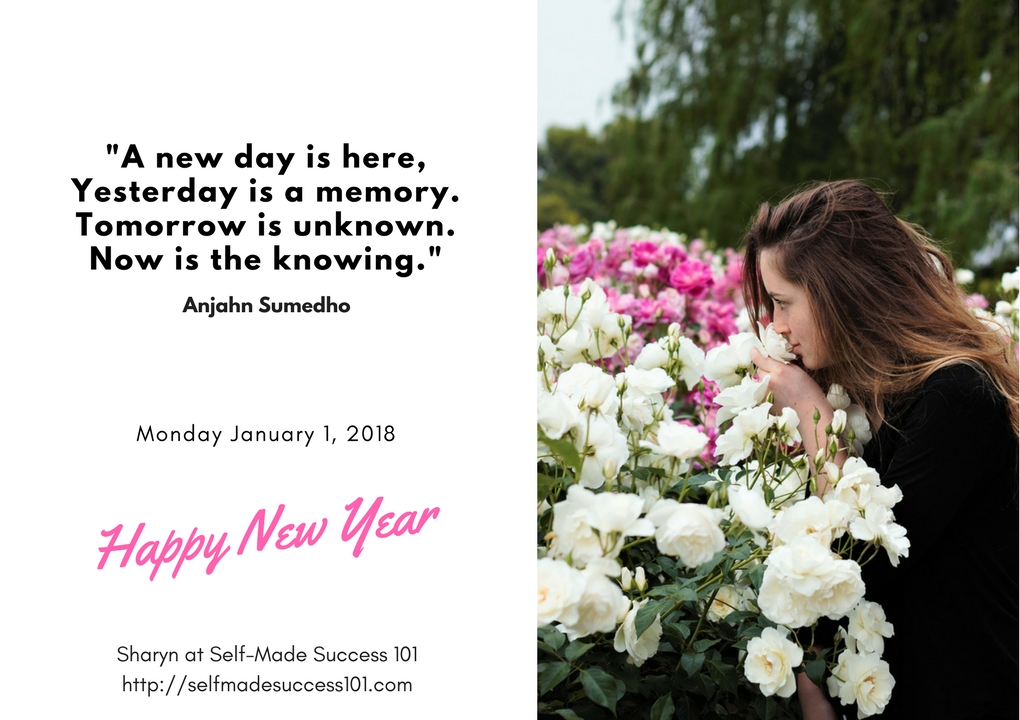 Be a Self-Made Success in 2018