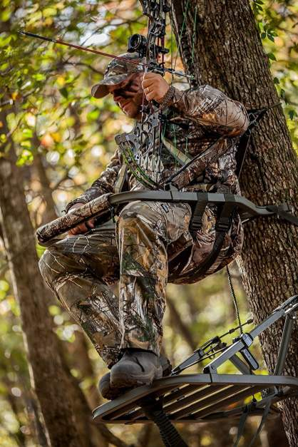 Comfort of a treestand