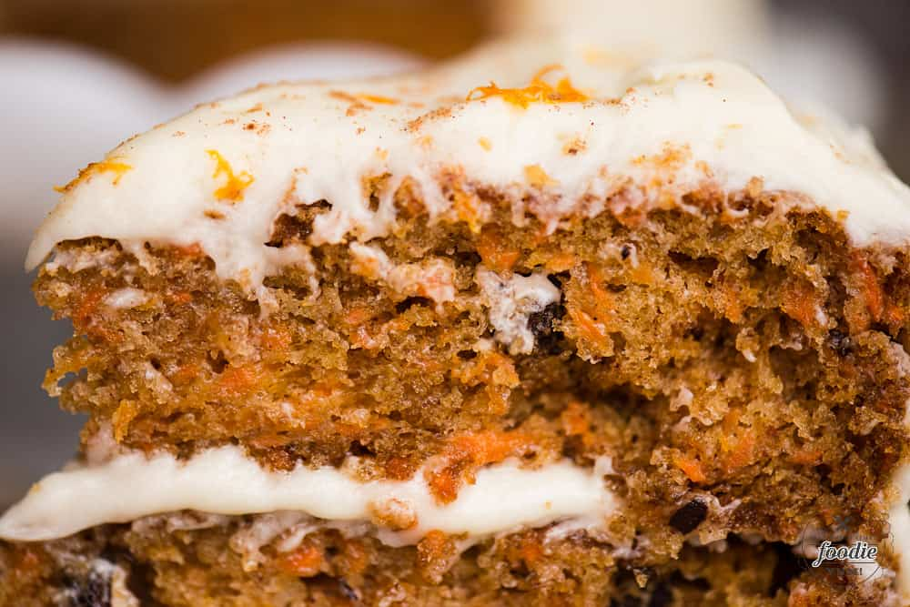 Carrot Cake with Cream Cheese Frosting   Self Proclaimed Foodie recipe for carrot cake