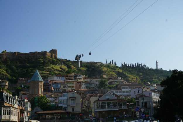 Old town Tbilisi, my home for three weeks.