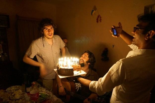 Happy birthday, Saba!
