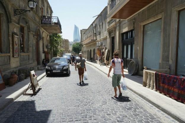New Baku from Old Baku