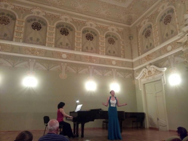 At the Tbilisi Conservatory