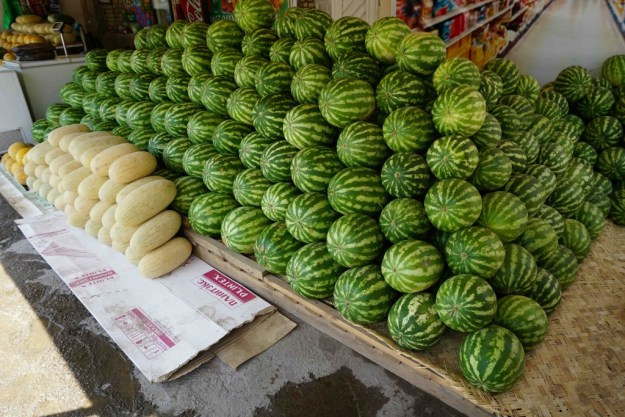More melons than you can shake a stick at