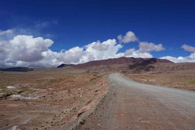 Approaching the top of the Tajik side of the Kizil Art pass