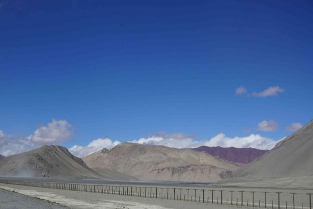 No man's land between Tajikistan and China