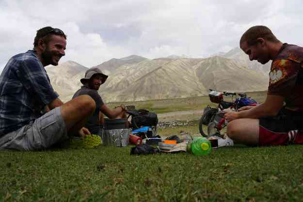 Picnic with Seweryn & Greg in the High Wakhan above Langar