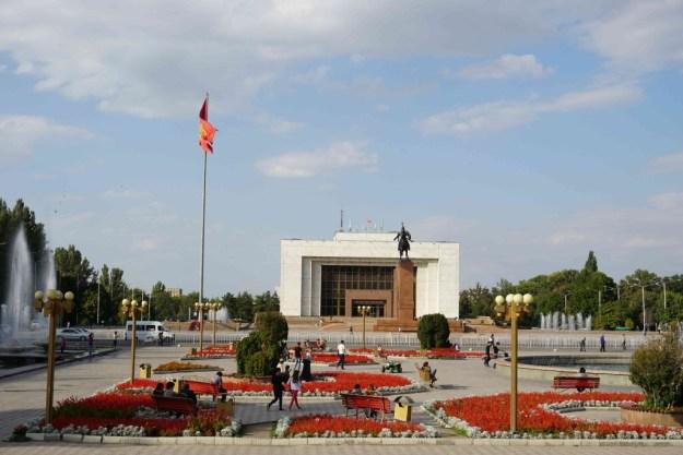 Ala Too square, Bishkek