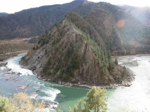 Yalong Canyon, my route out of Garze