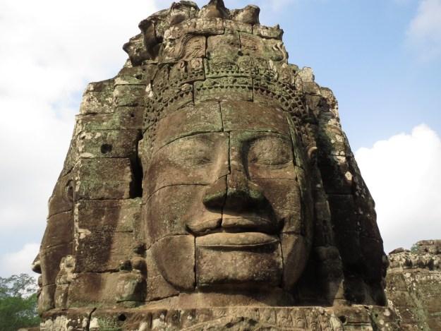 Bayon temple, Agkor, Cambodia