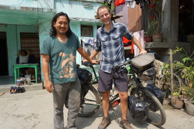 With Abow, who treated me like a brother, in Imphal.