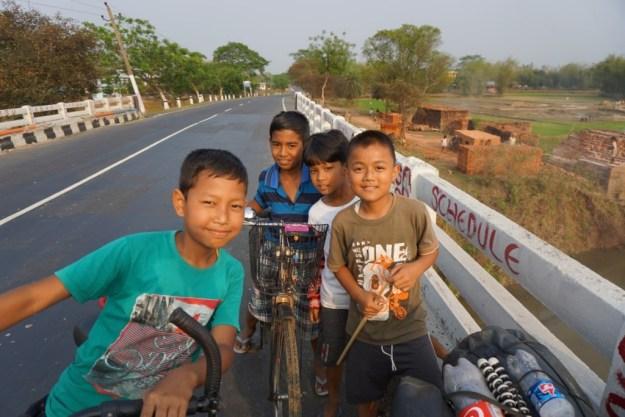 Kids near Dudhnoi, Assam