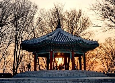 Namsan hill, Seoul