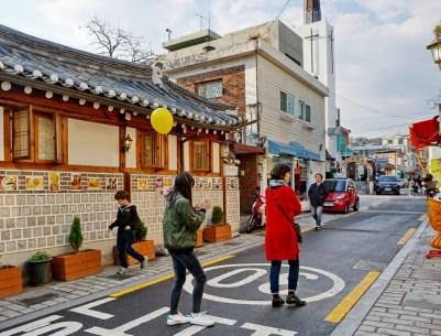 Near Bukchon Hanok village, Seoul.