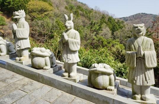 Entrance to Sammilsa temple, Jinhae