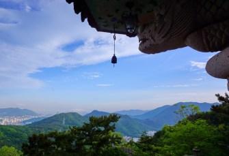 View from Seokbulsa temple, Busan