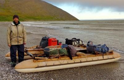 Sergey the master raft builder