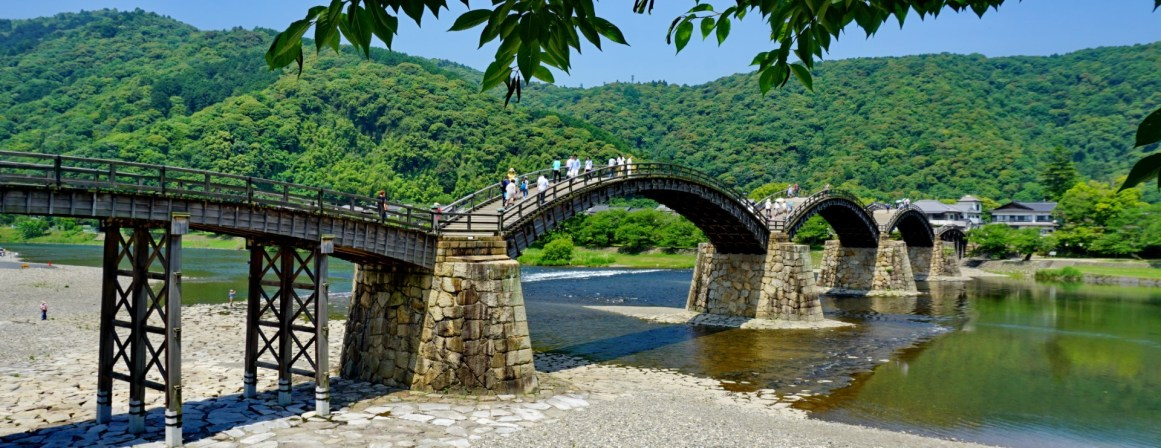 Kintai Bridge, Iwakuni, Honshu