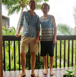 With Will in Kaneohe