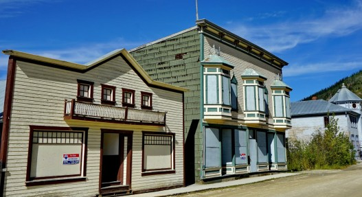 Many vacant properties in Dawson City