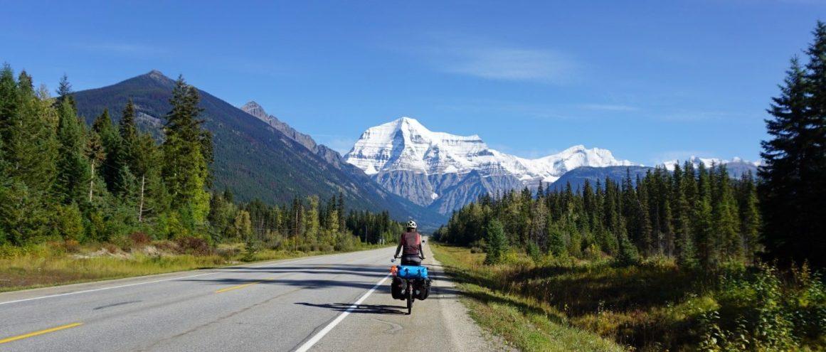 On the Yellowhead Highway heading to Jasper
