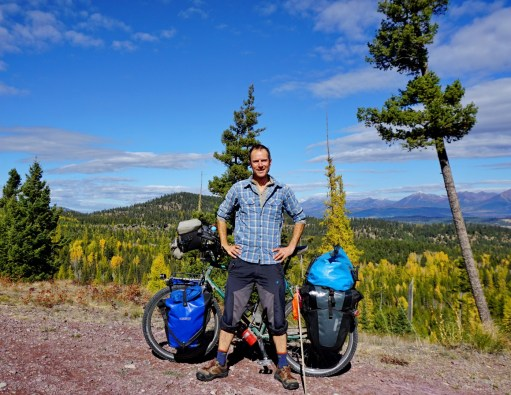 On the Missoula Spur, Mission Mountain range behind