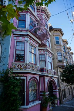 Janis Joplin's old digs were more colourful.