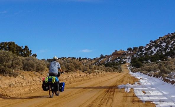 Approaching Upper Slickrock, Cottonwood Canyon Rd, Utah