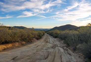 Dusk on the El Compadre Road