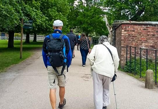With Mum at Dunham. Photo: K.Thorp