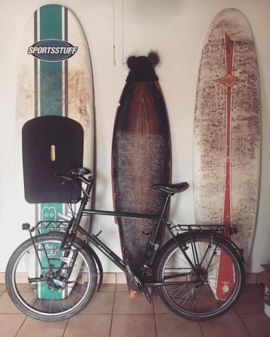 My bicycle in Chema's house. Photo: J. Calderon Ruiz
