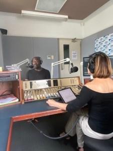 New Voices radio program interviews new writers