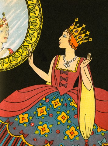 Bess Livings' illustration for Snow White