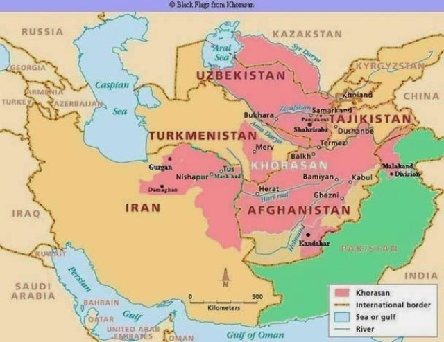 West And Central Asia Between The 10th And 12th Centuries Turkish