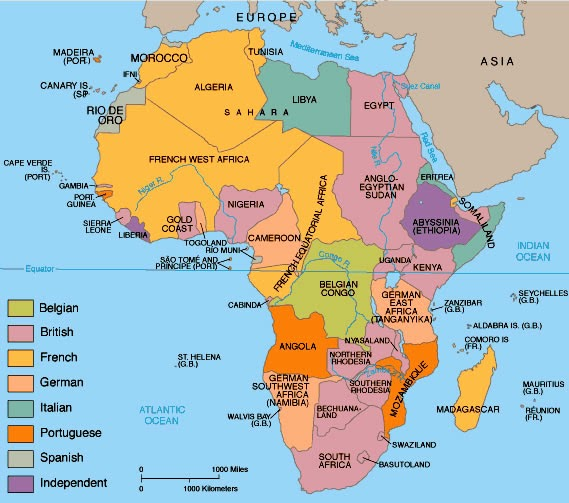 IMPERIALISM AND COLONISATION SCRAMBLE FOR AFRICA HISTORY AND
