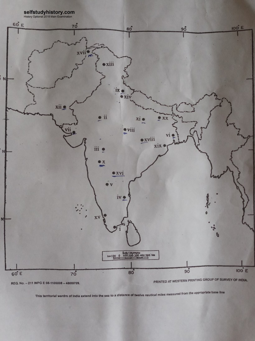 India map 2018