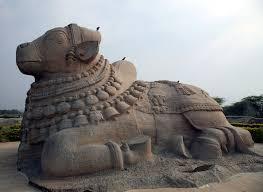 Monolithic Nandi Lepakshi