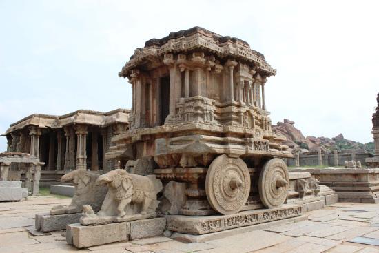 Stone Chariot Virupaksha