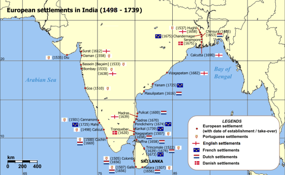 Portuguese settlements in India