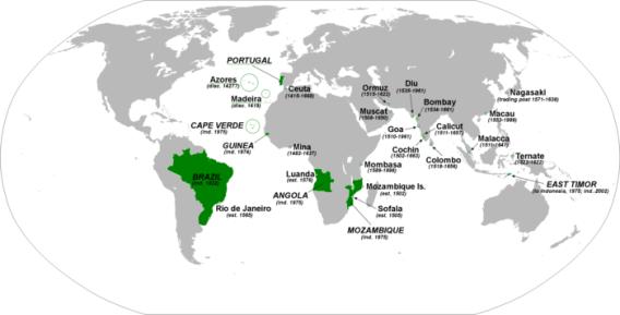 Portuguese settlements