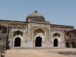 Khairul_Manazil,_Purana_Qila,_Delhi