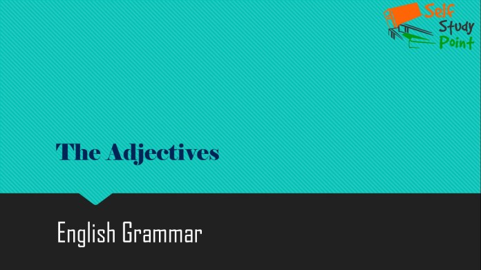 The Adjectives