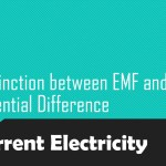 Distinction between EMF and Potential Difference