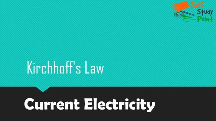 Kirchhoff Law