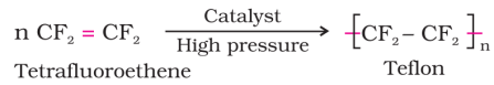 Polyterafluoroethane